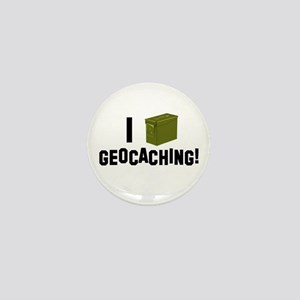 I (Ammo Can) Geocaching Mini Button