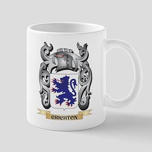 Crichton Family Crest - Crichton Coat of Arms Mugs