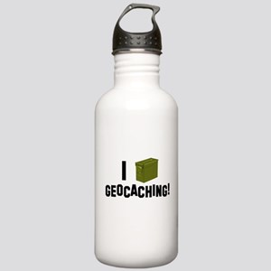 I (Ammo Can) Geocaching Stainless Water Bottle 1.0