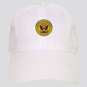 US Navy Veteran Gold Chained Cap