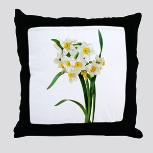 Pierre-Joseph Redoute Botanical Throw Pillow