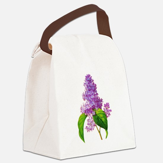 Pierre-Joseph Redoute Botanical Canvas Lunch Bag