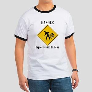 Danger Explosive Gas In Rear Ringer T