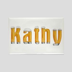 Kathy Beer Rectangle Magnet