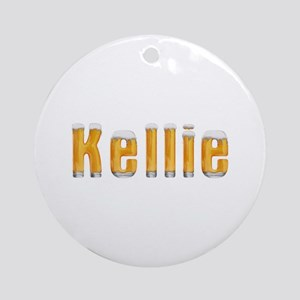 Kellie Beer Round Ornament