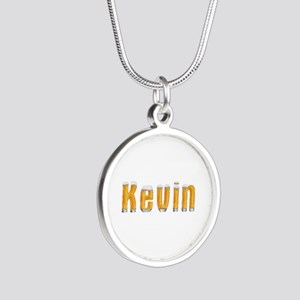 Kevin Beer Silver Round Necklace