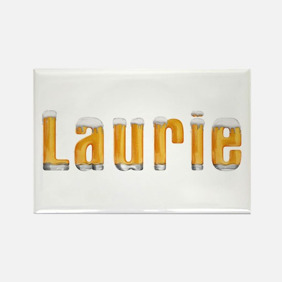 Laurie Beer Rectangle Magnet