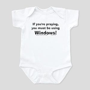 Using Windows... Infant Bodysuit