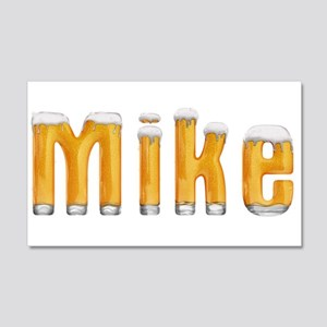 Mike Beer 22x14 Wall Peel