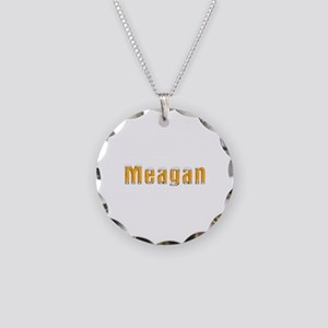 Meagan Beer Necklace Circle Charm