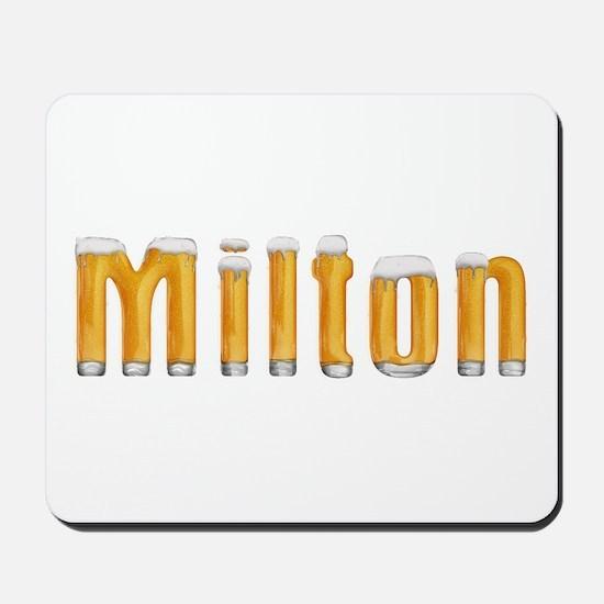 Milton Beer Mousepad
