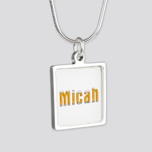 Micah Beer Silver Square Necklace