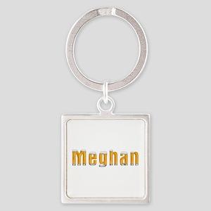 Meghan Beer Square Keychain