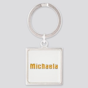 Michaela Beer Square Keychain