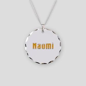 Naomi Beer Necklace Circle Charm