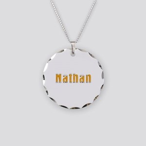 Nathan Beer Necklace Circle Charm