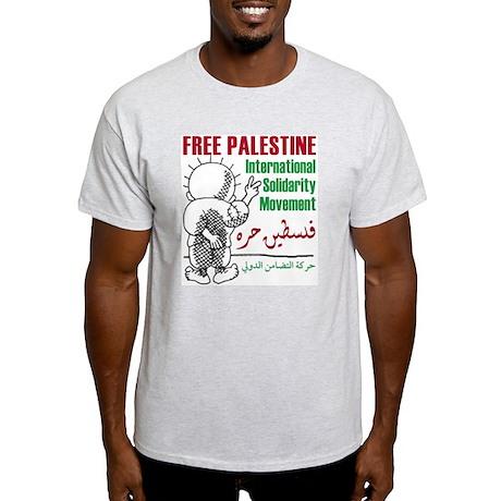 Free Palestine - Ash Grey T-Shirt