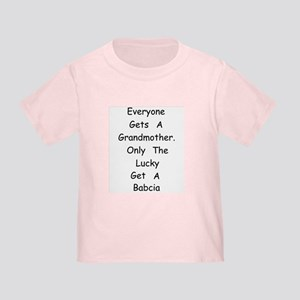 Babcia Toddler T-Shirt