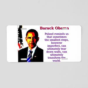 Poland Reminds Us That Sometimes - Barack Obama Al