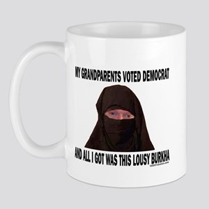 You voted Democrat Mug