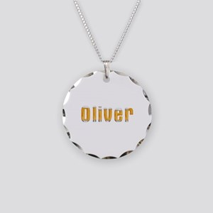 Oliver Beer Necklace Circle Charm