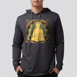 Buddha Mens Hooded Shirt