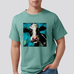 Cow Painting Mens Comfort Colors Shirt