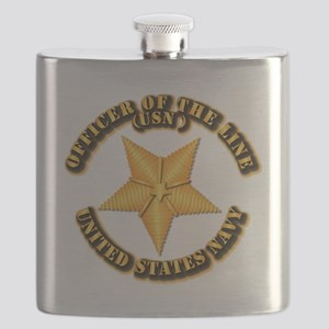 Navy - Officer of the Line Flask
