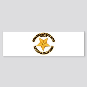 Navy - Officer of the Line Sticker (Bumper)