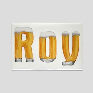 Roy Beer Rectangle Magnet