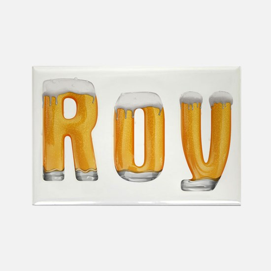 Roy Beer Rectangle Magnet