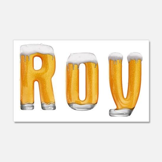 Roy Beer 22x14 Wall Peel