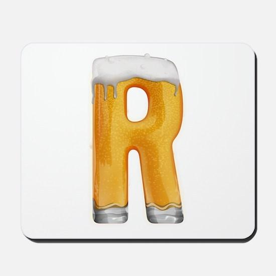 R Beer Mousepad