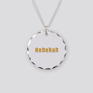 Rebekah Beer Necklace Circle Charm