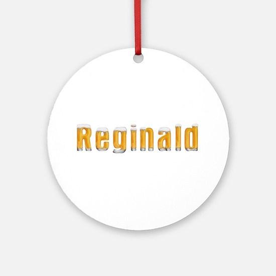 Reginald Beer Round Ornament