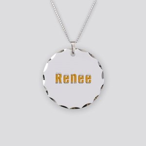 Renee Beer Necklace Circle Charm