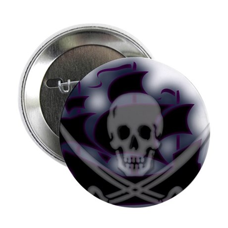 Pirate Ghost Ship Button
