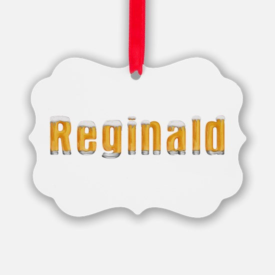 Reginald Beer Ornament