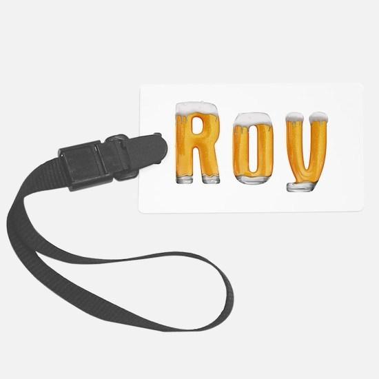 Roy Beer Luggage Tag