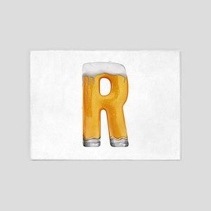 R Beer 5'x7' Area Rug