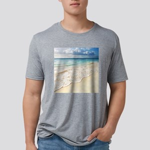 Beautiful Beach Mens Tri-blend T-Shirt