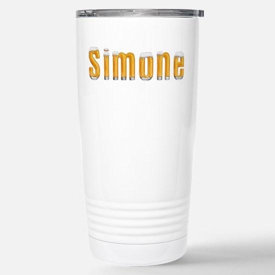 Simone Beer Stainless Steel Travel Mug