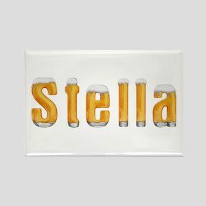 Stella Beer Rectangle Magnet