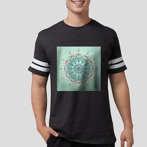 Vintage Floral Mens Football Shirt