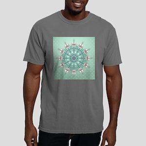 Vintage Floral Mens Comfort Colors Shirt