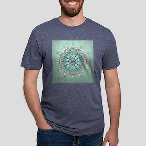 Vintage Floral Mens Tri-blend T-Shirt