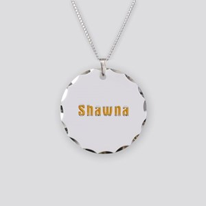 Shawna Beer Necklace Circle Charm