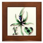 I Love Mary Jane Framed Tile