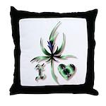 I Love Mary Jane Throw Pillow