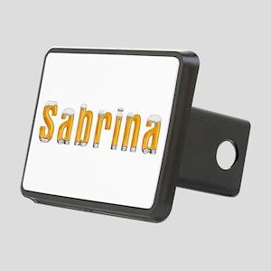 Sabrina Beer Rectangular Hitch Cover